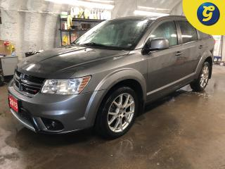 Used 2013 Dodge Journey R/T * AWD * Navigation *  Leather * Sunroof * V6 * Remote start * Dual Climate control * Reverse camera * Heated front seats/steering wheel * 8.4 inch for sale in Cambridge, ON