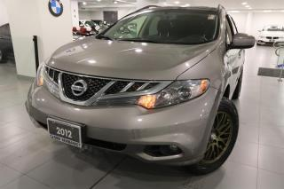 Used 2012 Nissan Murano AWD SV CVT for sale in Newmarket, ON