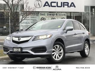 Used 2016 Acura RDX Tech at NAVI, BKUP CAM, PWR TRUNK, MOONRF for sale in Markham, ON