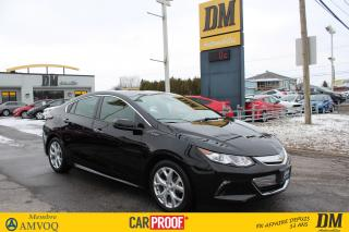 Used 2017 Chevrolet Volt Premier for sale in Salaberry-de-Valleyfield, QC
