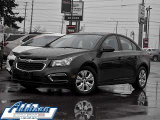Used 2015 Chevrolet Cruze LT Turbo - Bluetooth -  Siriusxm for sale in Mississauga, ON