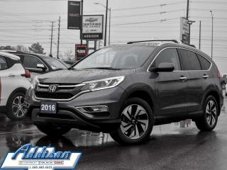 Used 2016 Honda CR-V Touring - Navigation for sale in Mississauga, ON