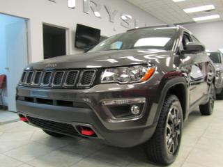 Used 2018 Jeep Compass Trailhawk 4x4 + TOIT PANORAMIQUE + GPS for sale in Napierville, QC