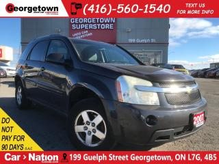 Used 2007 Chevrolet Equinox LT| CLEAN CARFAX | AS IS | YOU CERTIFY YOU SAVE for sale in Georgetown, ON