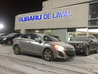 Used 2010 Mazda MAZDA3 GS  **GROUPE ÉLECTRIQUE ** for sale in Laval, QC