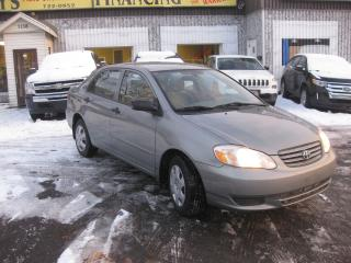 Used 2004 Toyota Corolla CE Auto 4cyl AC PL PM LOW KM for sale in Ottawa, ON