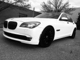 Photo of Pearl White 2009 BMW 7 Series