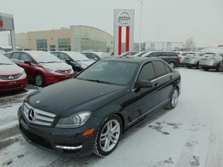 Used 2013 Mercedes-Benz C 300 MERCEDEZ-BENZ C-300 AWD 2013 CUIR TOIT for sale in Ste-Foy, QC