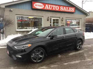 Used 2017 Ford Fusion V6 Sport for sale in London, ON