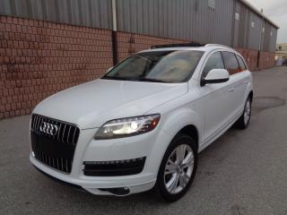 Used 2012 Audi Q7 NAVI - CAMERA - PANO ROOF - 7 PASS - SIDE ASSIST for sale in Toronto, ON