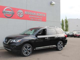 Used 2019 Nissan Pathfinder Platinum/4WD/360 CAM/COOLED SEATS for sale in Edmonton, AB