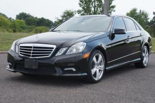 Used 2010 Mercedes-Benz E-Class E350 4MATIC Top Of The Line Super Mint!!! for sale in North York, ON