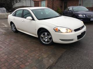 Used 2009 Chevrolet Impala LS 4 door roomy sedan for sale in Bradford, ON