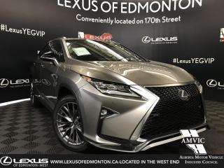 New 2019 Lexus RX 350 F Sport SERIES 2 for sale in Edmonton, AB