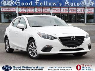 Used 2015 Mazda MAZDA3 SPORT GS, SKYACTIV, REARVIEW CAMERA, HEATED SEATS for sale in Toronto, ON
