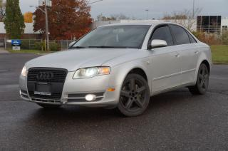 Used 2006 Audi A4 3.2L S-Line RUNS & DRIVE GOOD. for sale in North York, ON