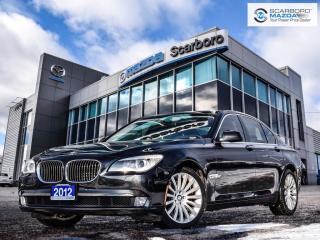 Used 2012 BMW 750i xDrive NAV|SIDE&REAR CAMERA|AWD for sale in Scarborough, ON