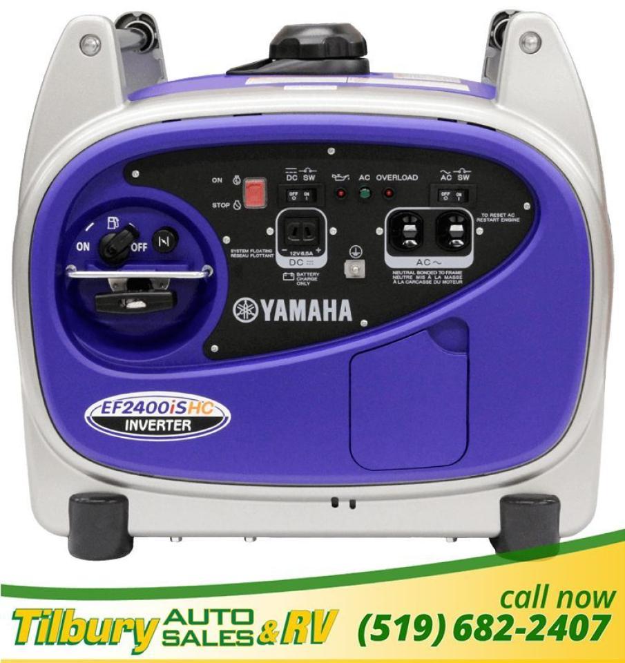 Yamaha EF2400ISHC Generator *YPP - 3 YEARS FOR PRICE OF 1*
