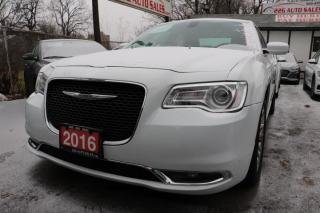 Used 2016 Chrysler 300 Touring ACCIDENT FREE for sale in Brampton, ON