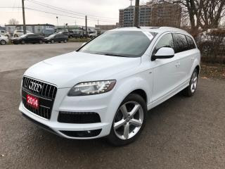 Used 2014 Audi Q7 3.0L TDI Technik for sale in BRAMPTON, ON