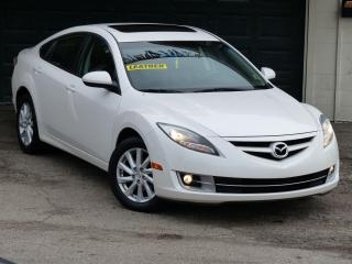 Used 2012 Mazda MAZDA6 GT, LEATHER,I4,FULLY LOADED, SUNROOF,FOG LIGHTS, B for sale in Mississauga, ON