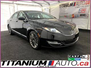 Used 2015 Lincoln MKZ AWD-Pano Roof-GPS-Camera-Massage Brown Leather Sea for sale in London, ON