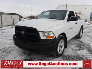 Used 2012 RAM 1500 ST REG CAB SWB 2WD 3.7L for sale in Calgary, AB