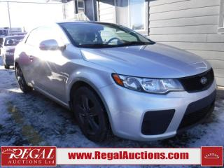 Used 2010 Kia Forte EX 2D KOUP for sale in Calgary, AB