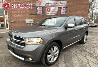 Used 2011 Dodge Durango Crew Plus/3.6L//4WD/ONE OWNER/NO ACCIDENT/CERTIFIE for sale in Cambridge, ON