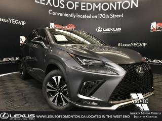 New 2019 Lexus NX 300 F Sport Series 3 for sale in Edmonton, AB