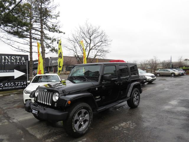 2017 Jeep Wrangler Unlimited Sahara 4WD (SOLD)