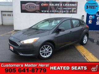 Used 2016 Ford Focus SE  CAMERA HTD-SEATS HTD-STEER ING WHEEL  ALLOYS for sale in St. Catharines, ON