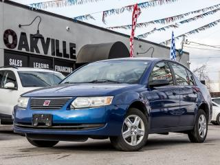 Used 2006 Saturn SL2 4dr Sdn Ion.1 Base Manual for sale in Oakville, ON