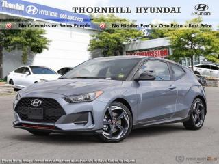 New 2019 Hyundai Veloster Turbo Manual  - Sunroof for sale in Thornhill, ON