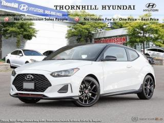 New 2019 Hyundai Veloster Turbo  - Sunroof -  Heated Seats for sale in Thornhill, ON