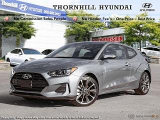 New 2019 Hyundai Veloster 2.0 GL Auto  - Heated Seats for sale in Thornhill, ON