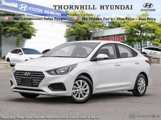 New 2019 Hyundai Accent Preferred AT  -  Power Windows for sale in Thornhill, ON