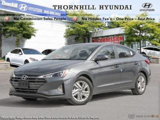 Used 2019 Hyundai Elantra Preferred w/sun and safety pkg for sale in Thornhill, ON