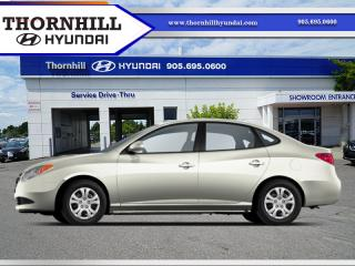 Used 2010 Hyundai Elantra for sale in Thornhill, ON