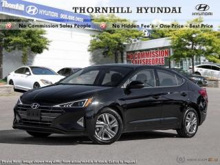 Used 2019 Hyundai Elantra Preferred  AT for sale in Thornhill, ON