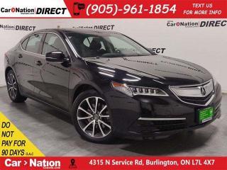 Used 2015 Acura TLX Tech| AWD| NAVI| SUNROOF| OPEN SUNDAYS| for sale in Burlington, ON