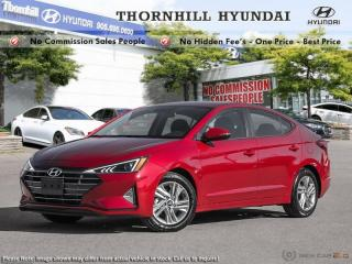 New 2019 Hyundai Elantra Preferred w/sun and safety pkg for sale in Thornhill, ON