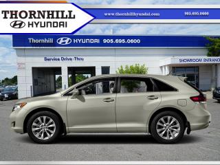 Used 2016 Toyota Venza Base  - Bluetooth -  SiriusXM for sale in Thornhill, ON
