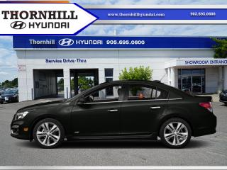Used 2016 Chevrolet Cruze Limited LT w/1LT  -  Bluetooth for sale in Thornhill, ON