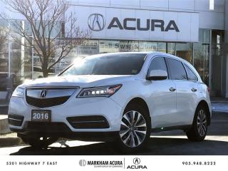 Used 2016 Acura MDX Navi Bkup Cam, Pwr Trunk, Htd Seats for sale in Markham, ON