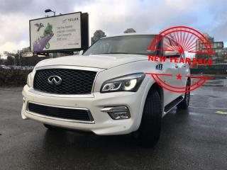 Used 2017 Infiniti QX80 8-Passenger for sale in Vancouver, BC