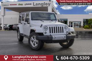 Used 2015 Jeep Wrangler Unlimited Sahara *BLUETOOTH* * NAVIGATION* for sale in Surrey, BC