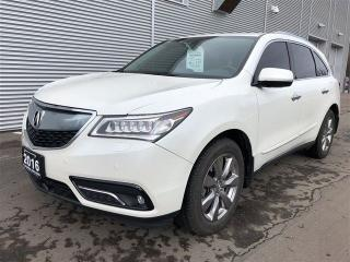 Used 2016 Acura MDX Elite Package Navigation. Camera. DVD. All Original for sale in Toronto, ON