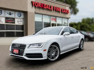 Used 2013 Audi A7 3.0T Quattro. S Line. Navigation. Camera. Very Clean for sale in Toronto, ON