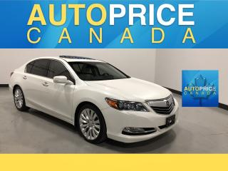Used 2015 Acura RLX MOONROOF|NAVIGATION|LEATHER for sale in Mississauga, ON